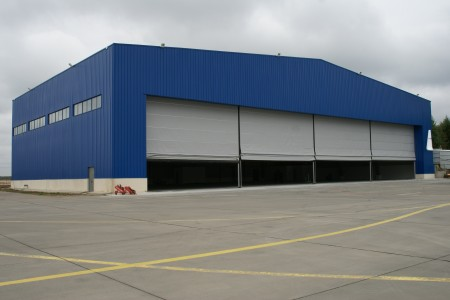 Hangar for the aircraft storage